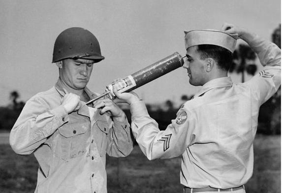US soldiers. No date, public domain.