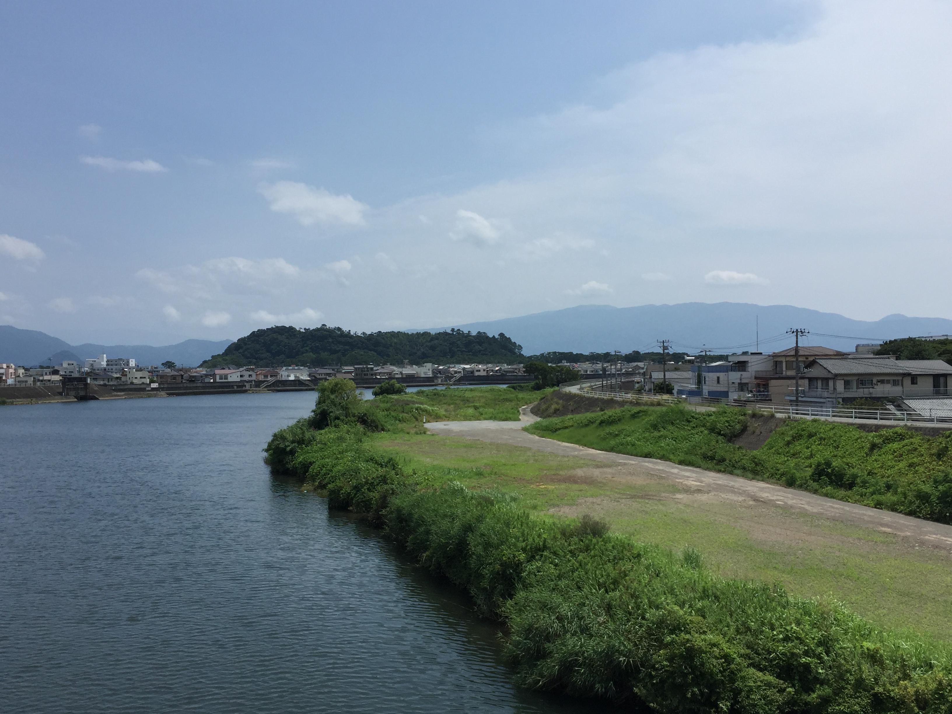 Photo of Ushibushiyama, Numazu City.